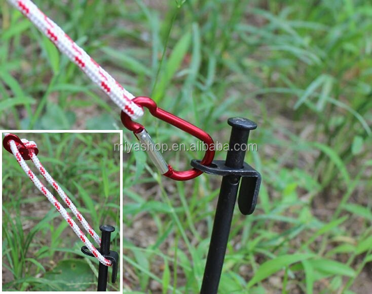 20cm High Strength Tent Peg / Camping picnic skylight beach nails long camp nails / Outdoor supplies accessories