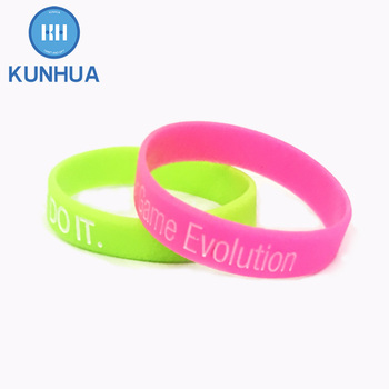 Custom Pride Rainbow Slim Awareness Best Silicone Wristbands Bracelets Bands For