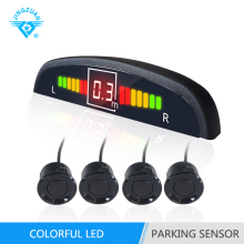 Universal bibi voice electronics led display auto beeper speaker parking sensor