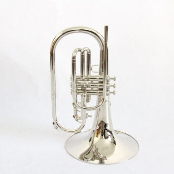 OEM Hot Sale Chinese Wholesale Factory Price Brass Body Nickel Plated Bb Key Mellophone