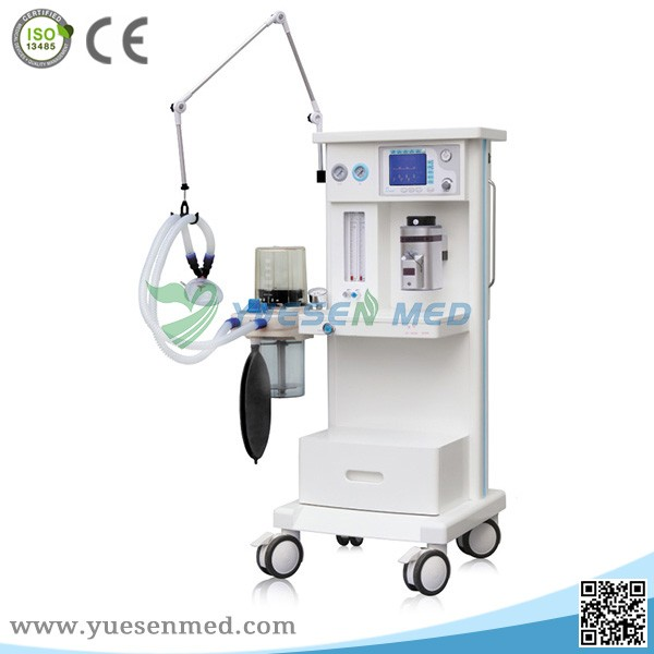 factory price LCD display anesthesia machine trolley with CE