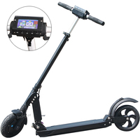 2018 New Style 8 inch Two Wheel Electric Scooter With 500W Lithium battery
