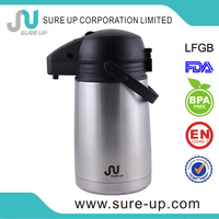 Travel mug customises stainless steel airpot flask with special feature(ASUR)
