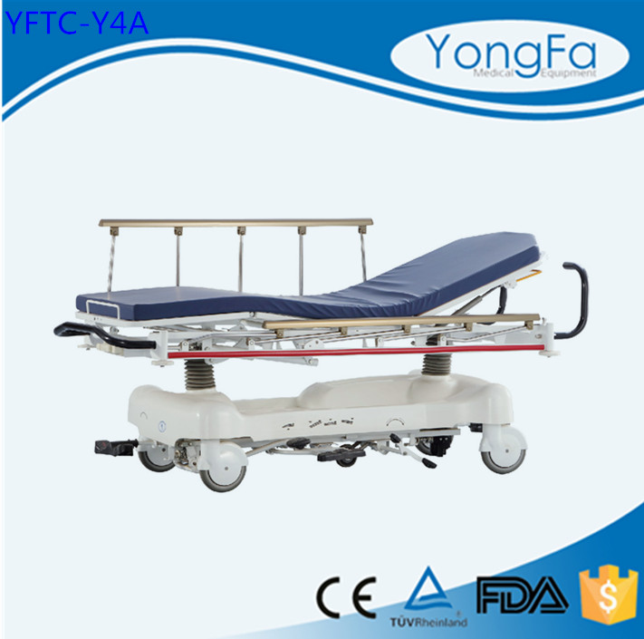 Real Manufacturer Hospital Mobile Adjustable Medical telescopic stretcher