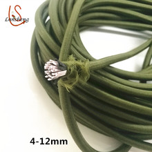 round elastic latex rubber bungee cord