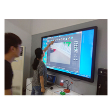"GAOKE 55 ""65"" 70 ''75"" 86 ""98"" LCD LED 3D 4 k Interactieve Platte panel Touch Screen Monitor voor Classroom Office"