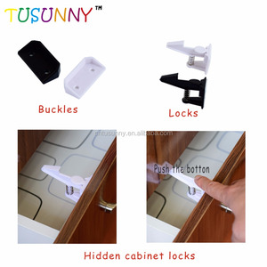Baby Security Cabinet Cupboard Latch Products/Baby And Child Safety Locks