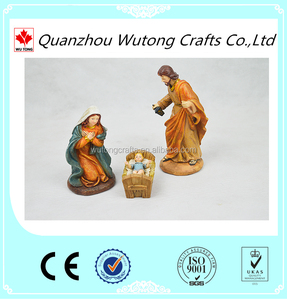 Nativity set the virgin Mary and Jesus stable wholesale