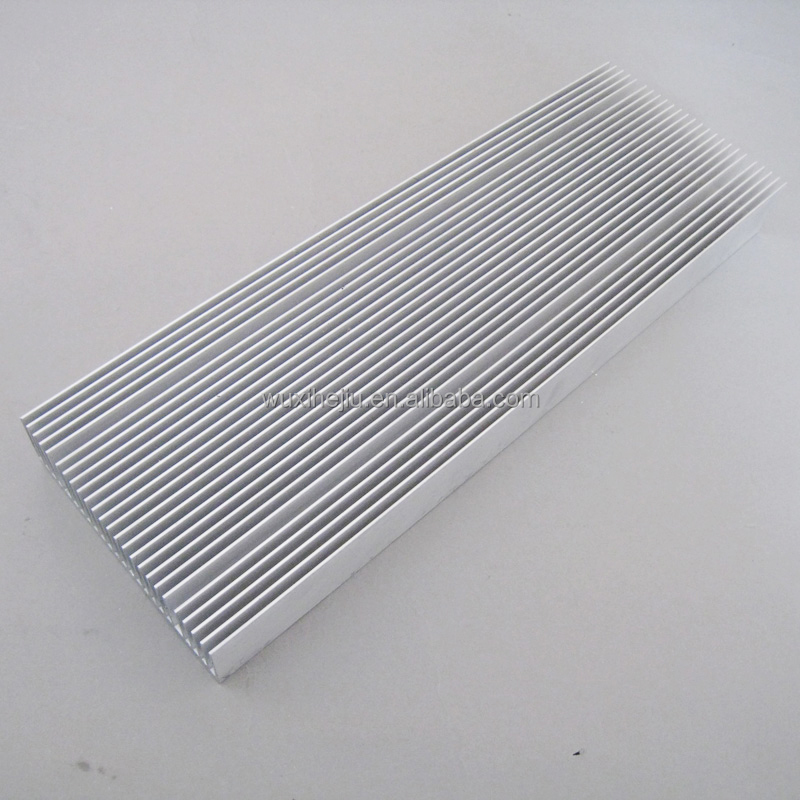 LED heatsink 100(W)*30(H)*300(L)mm with large surface area