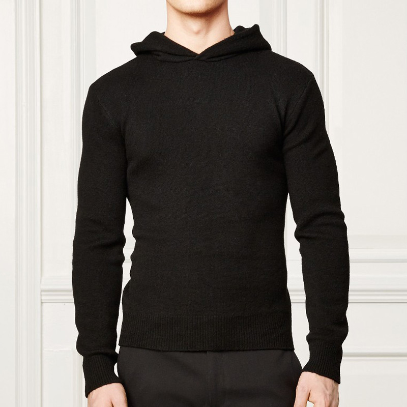 15PKH13 high quality autumn winter cashmere hoodies for <strong>men</strong>