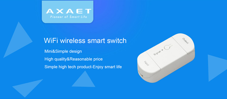 2018 compact size Wireless smart home switch Intelligent Timer wifi light switch work with alexa echo google home