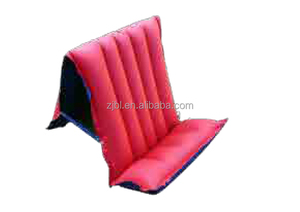Chair style Camping Red Infatable Rubber Air Bed M6021