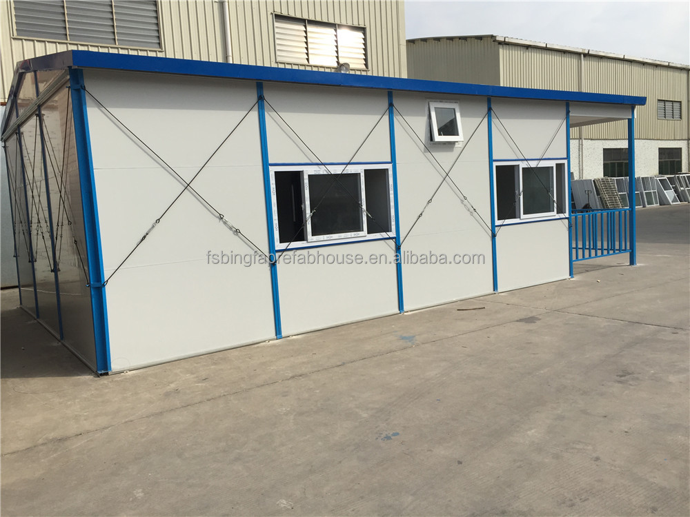 Prefabricated house reliable manufaturer in Foshan China