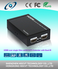 Professional HDMI extender Over single 50m/164ft UTP with IR control with ARC