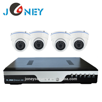 4ch/8ch cctv dvr kit security camera system outdoor Cheap cctv 4 camera AHD DVR kit