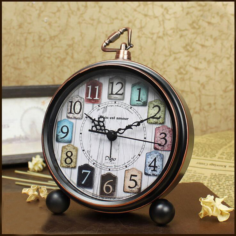 vintage promotional clocks