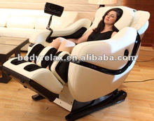 2015 latest back pain massage machine, full body massage chair with 3D zero gravity and music function