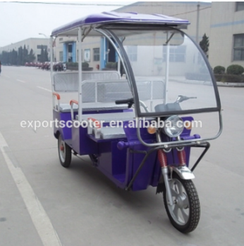 Electric Three Wheel Battery Rickshaw Tricycle With Front Glass - Buy 3  Wheel Electric Tricycles,Electric Auto Rickshaw,Three Wheel Passenger