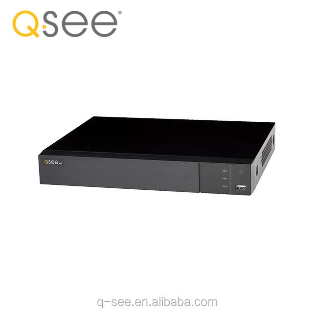 New Q-See QT874-2 4 Channel IP HD 4K Network Video Recorder NVR w 2TB HDD
