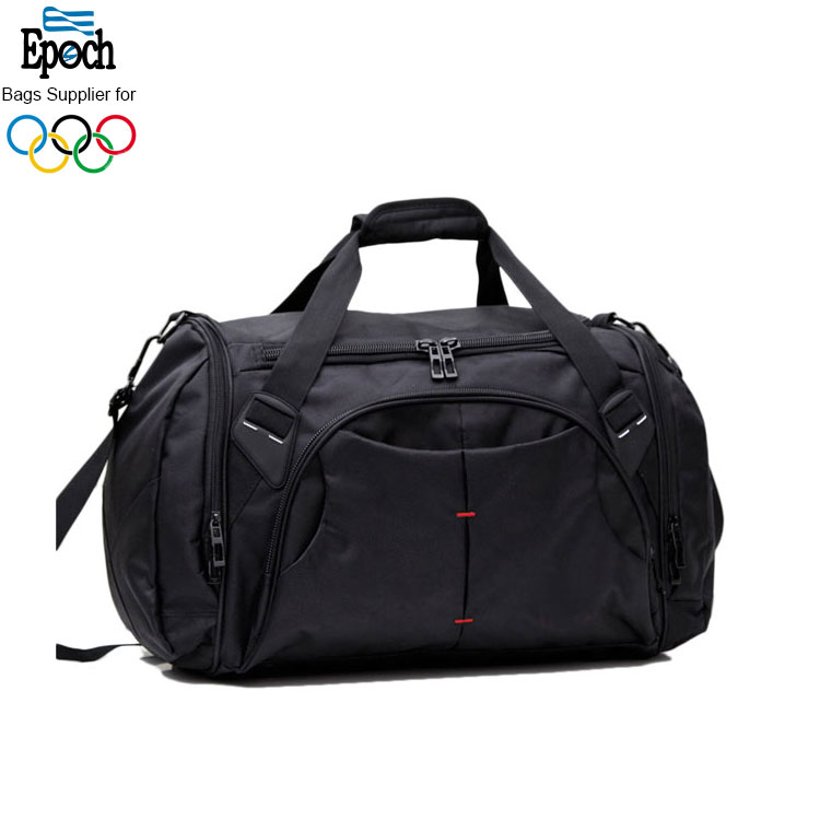 2018 Latest high quality nylon practical sports travel duffle bag, vintage gym bag for men
