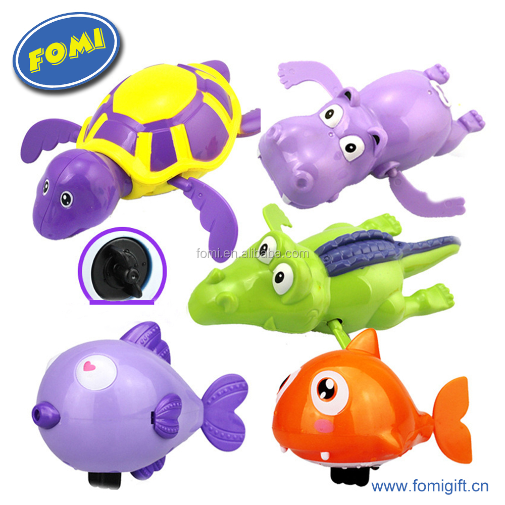 Wholesale 2017 colorful fish animal shower toys Kids bath playing toys