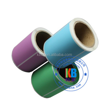 Packaging Label Color Thermal Paper Roll On Zebra Printer - Buy Thermal  Paper Roll,Thermal Paper,Color Thermal Label Product on Alibaba com