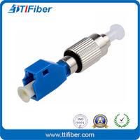 FC Female to LC Male Singlemode Simplex Fiber Adapter Converter