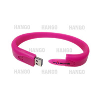 Promotional Silicone Band Rubber Wristband 2GB 4GB 8GB USB Stick Memory