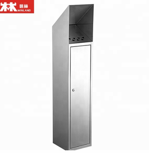 Stainless Steel 304 Standing Cigarette Bins