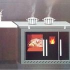 Multifunctional Wood Pellet Stove with Oven