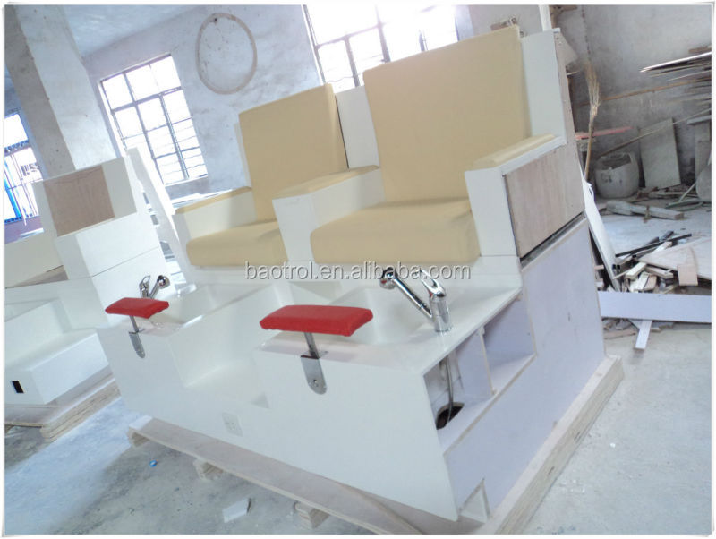 European Style Nail Manicure Table With Dust Collector And Led Light ...