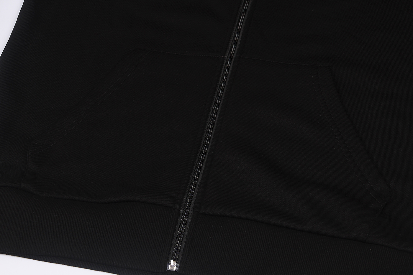 black zip hoodies for men