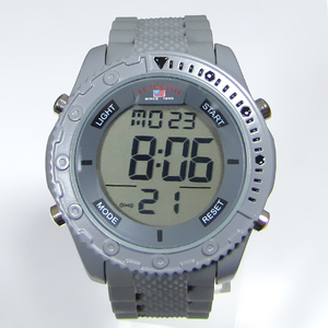 plastic strap alloy shell digital watches custom design good quality multi-function