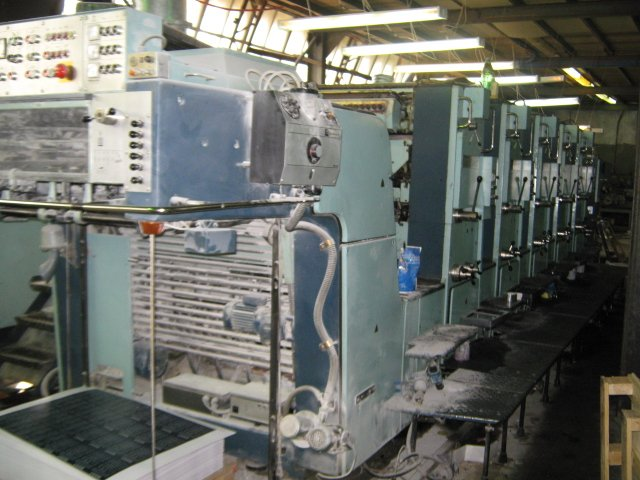 Used Printing Machine Planeta Super Variant P54-8 VC VD