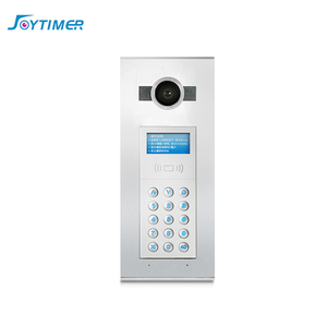 touch screen multi apartment door entry 2 wire building video doorphone intercom system