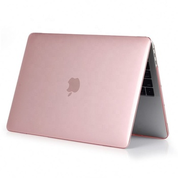 For MacBook Case 12 13 14 15 inch Air Pro Retina Crystal Clear Transparent Laptop Protective Cover Top Quality Factory