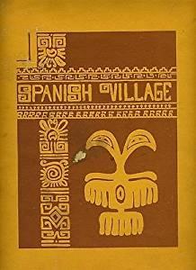 Spanish Village Menu in Underground Atlanta in Atlanta Georgia
