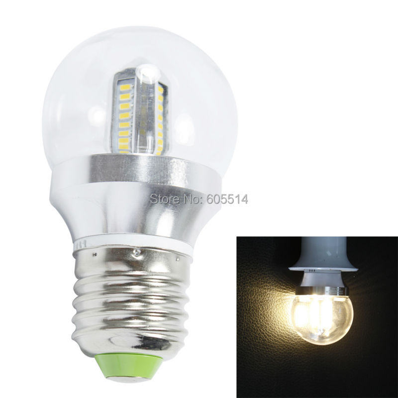 [Seven Neon]Free DHL shipping 10pcs two years guarrantee warm white E27 32leds 3014 SMD 4W 85-265V 300-320LM led bulb light