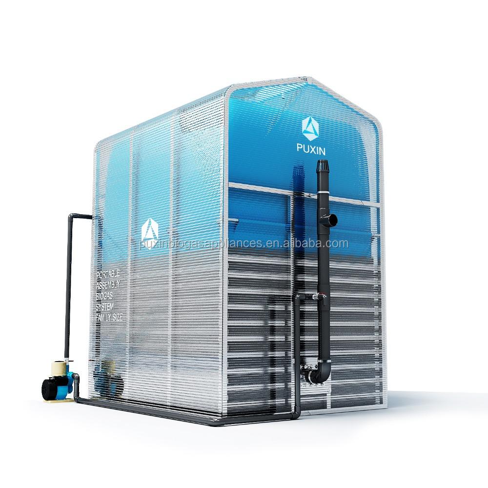 Mini Biogas Plant : Puxin мини завод по производству биогаза с отходами для