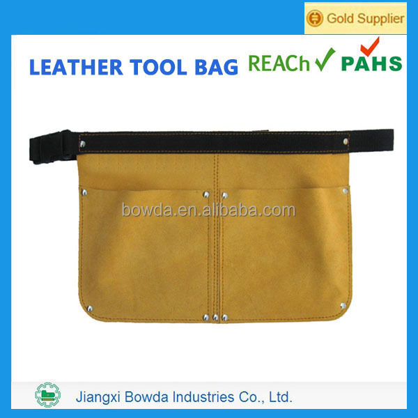 Best selling durable small leather motorcycle tool bag
