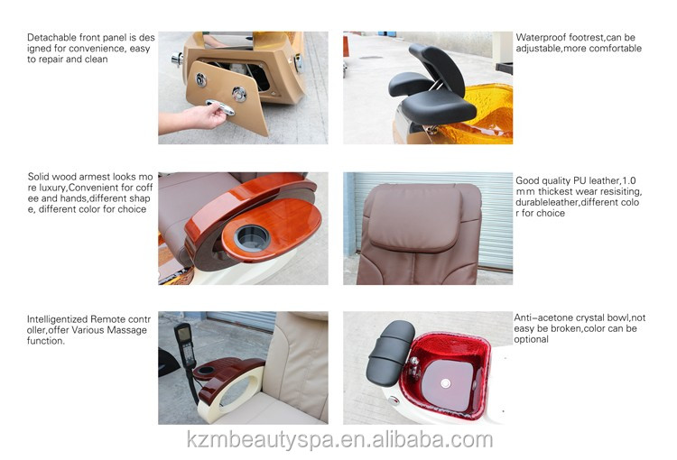 Nail salon equipment pipeless pedicure spa chair