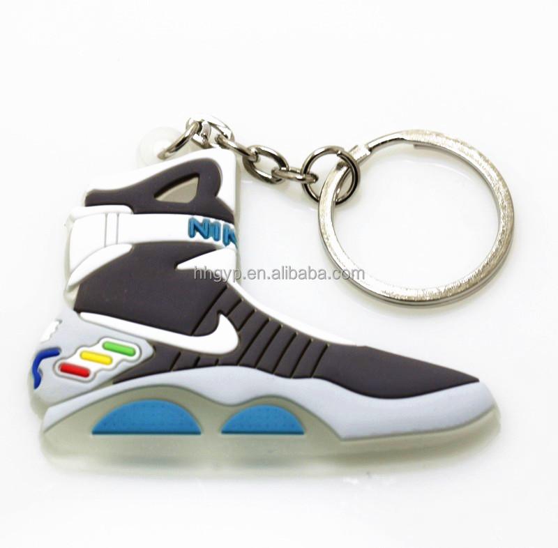 0aa5c6cd61ca7 3D sneaker yeezy keychain 3d sneaker shoe keychain PVC RUBBER keychain air  sneaker