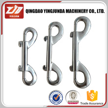 trade insurance double snap hook double dog clip double ended hook safety snap hook wholesale