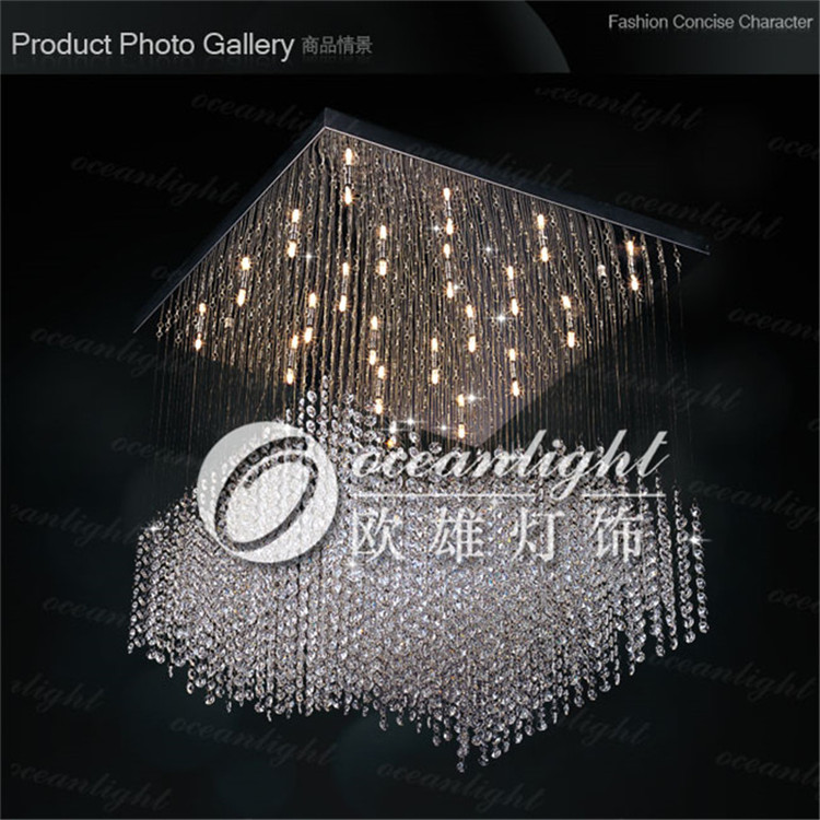 contemporary crystal pendant lamp for ocean lamp OAL002