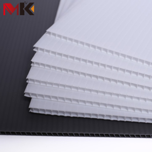 cheap hard plastic corrugated hollow sheet 4x8