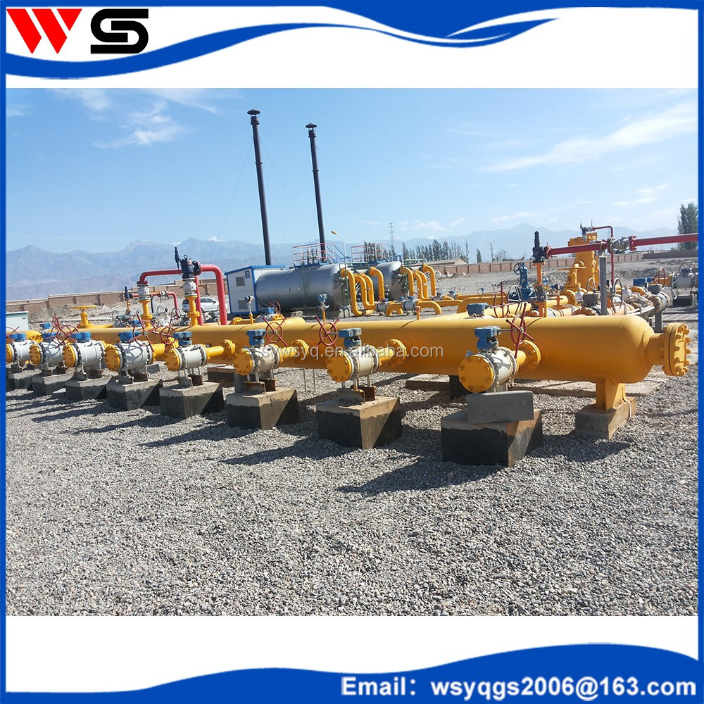 Q345R high quality natural gas collector and distributor pipe