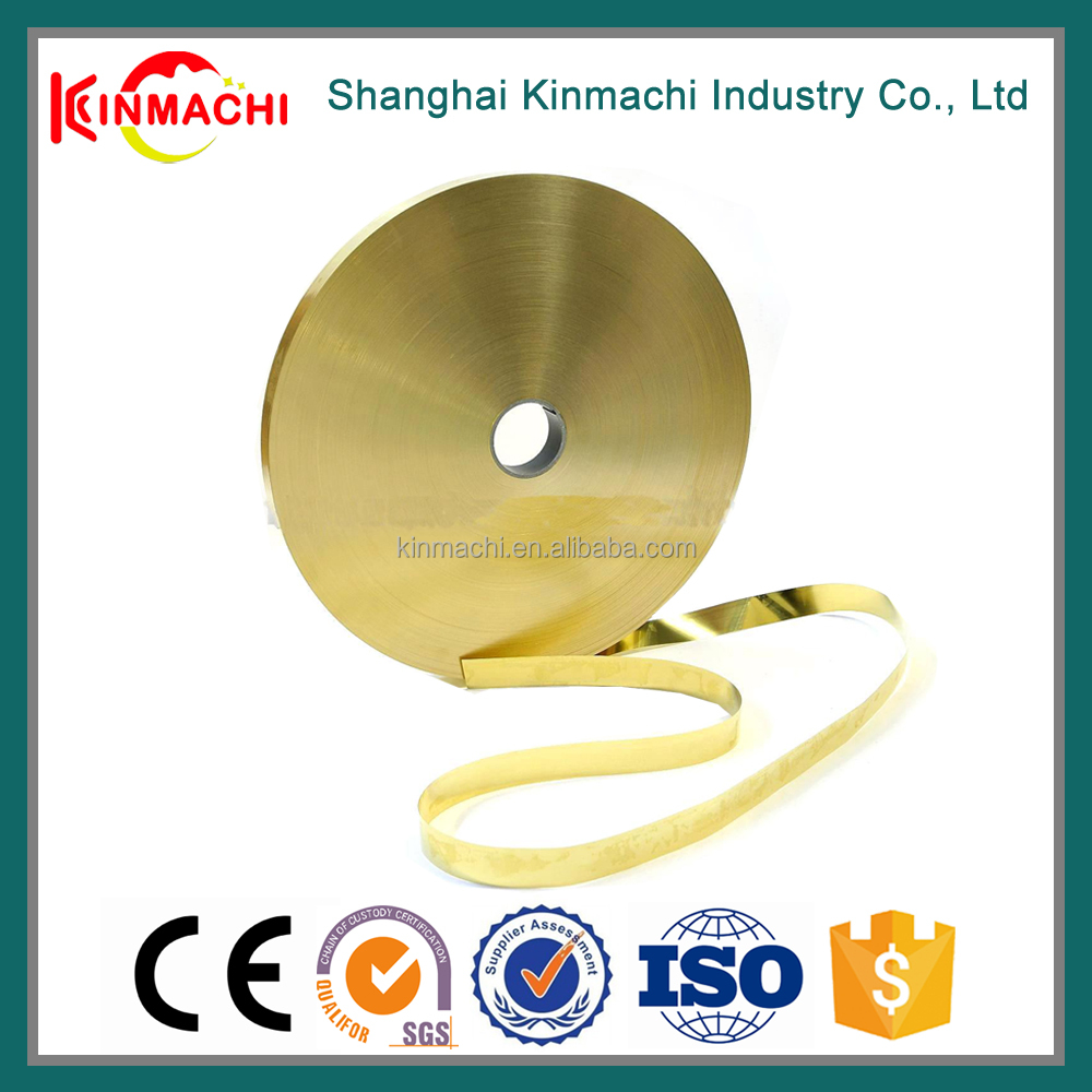 On-time Shipment Easy To Coat C2600 1 inch Wide Brass Strip Price