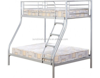 Cheap Metal Single Double 3 Sleeper Bunk Bed 3 Person Bunk Bed