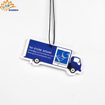 Custom Bulk Cheap Good Smell Hanging Car Air Freshener Paper Buy