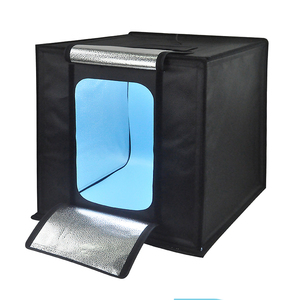 Folding Mini Photograph USB LED Light Soft Box 40x40x40 Photo Studio portable photo studio light box